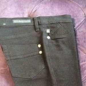 Rock & republic black jean crop pants
